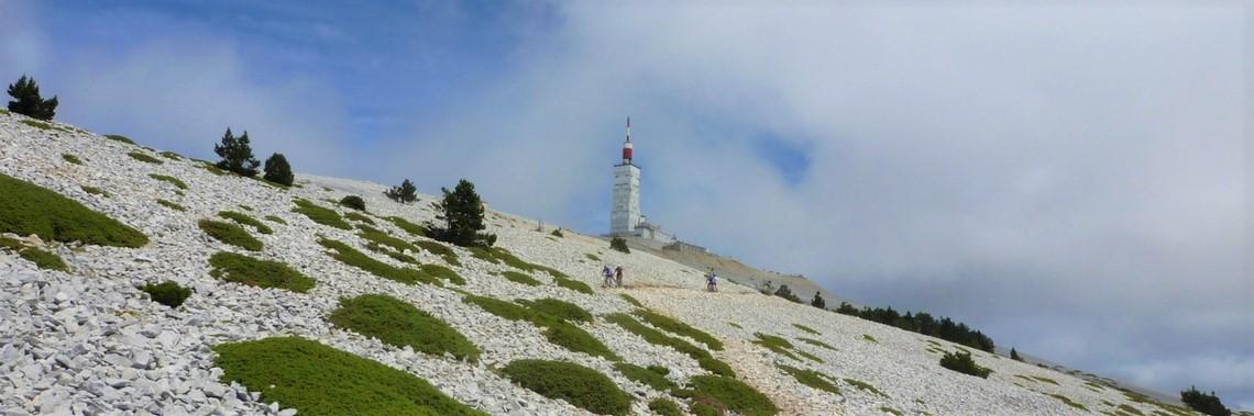 Le Mont Ventoux à VTT