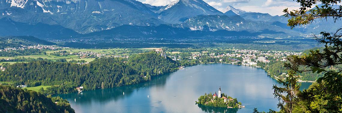 Tout à droite... la Slovénie