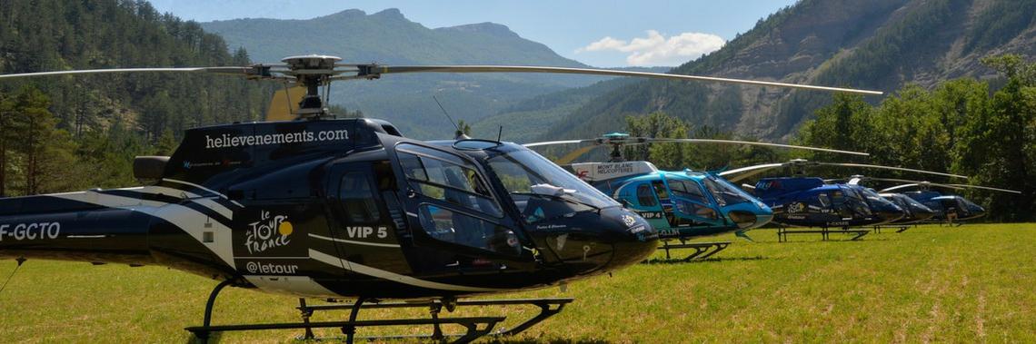 Vol au dessus du Tour en Hélicoptère - Tickets